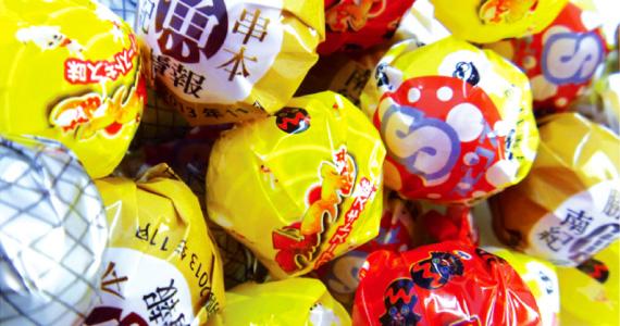 オリジナル棒付きキャンディ
